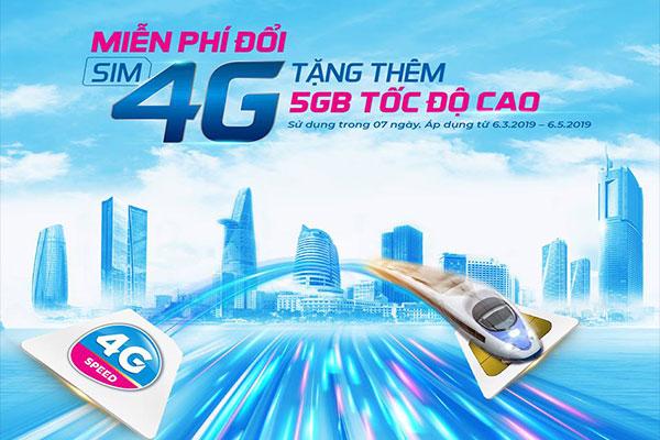 Đổi Sim 4G Miễn Phí