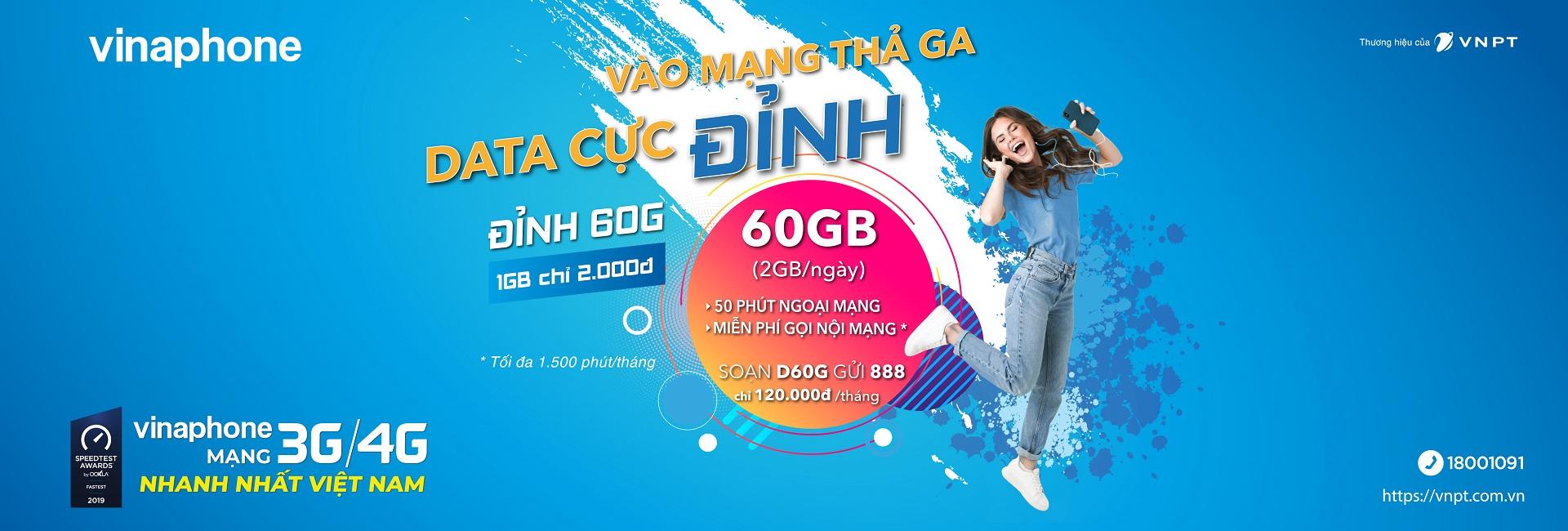 Gói Đỉnh D60G VinaPhone